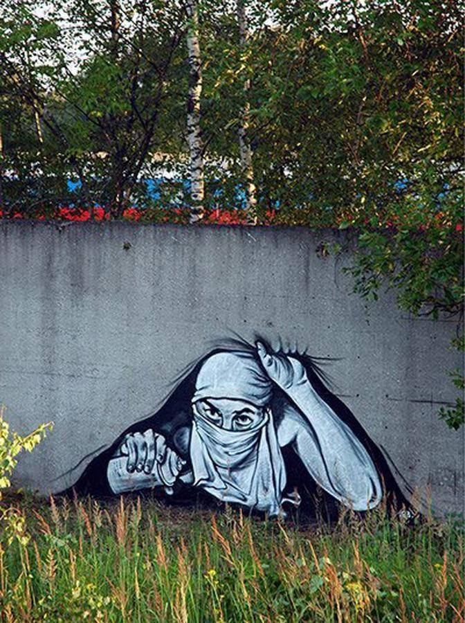 Las 25 mejores ideas sobre arte urbano ut pico en for Graffitis y murales callejeros