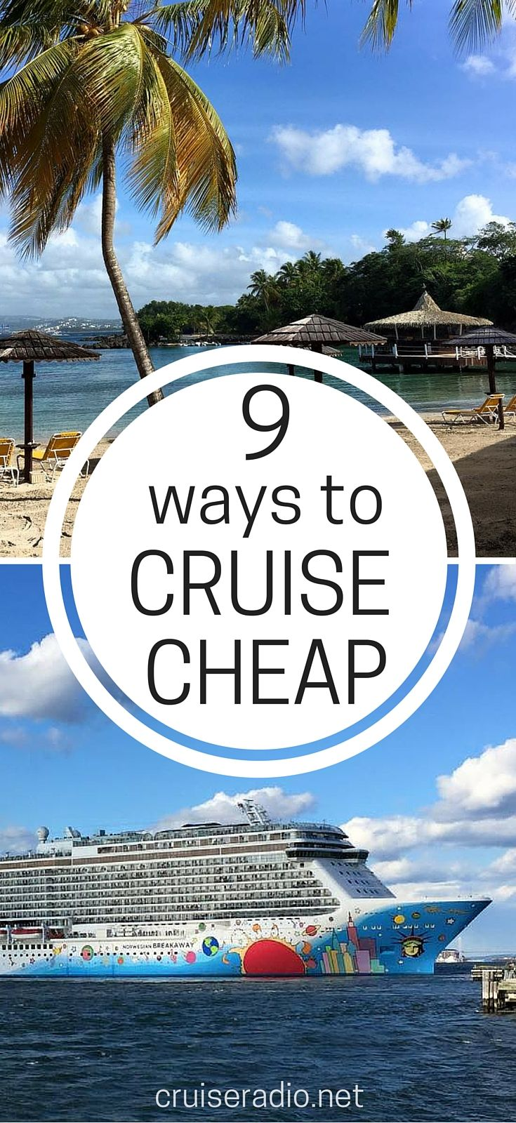Here are 9 ways to cruise cheap on your next vacation.