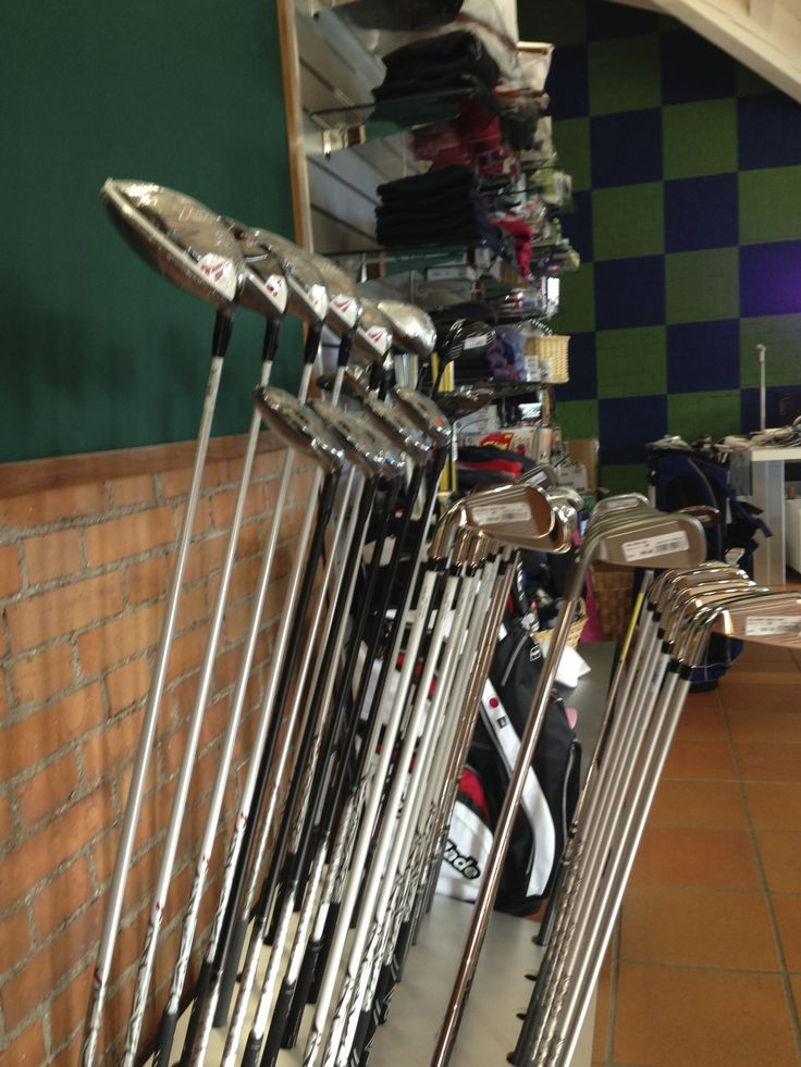 Pro shop at Golf Club Udine, Fagagna - Italy.
