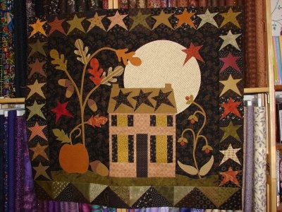 'Harvest Moon' by Barb Adams and Alma Allen and is in their book entitled Small Favorites for all Seasons.