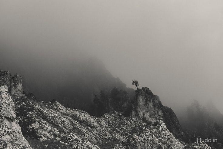 Last man standing #photography #landscape #mountains #bw #bnw #blackandwhite #blackwhite #minimalism #minimalistic#minimal #soliter