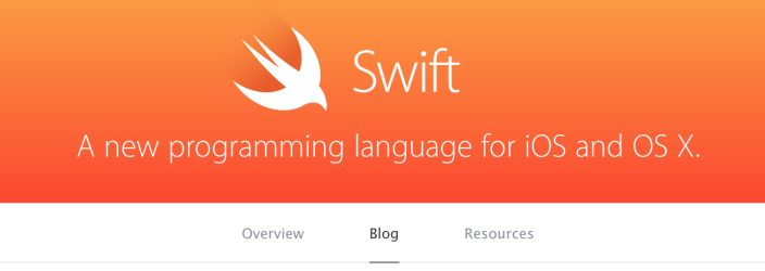 Apple launches blog to highlight new Swift programming language