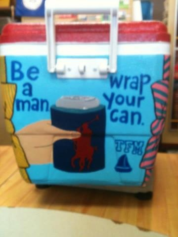 Be a man, wrap your can