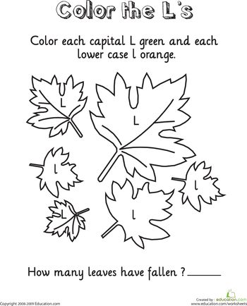 Letter L Coloring Pages Preschool : 12 best learning resources for kids images on pinterest