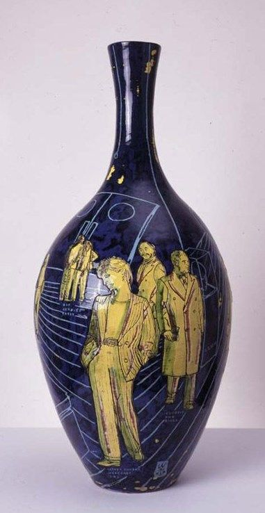 "Potter Artist Grayson Perry (British: 1960) | ""We Are What We Buy"" 2000 