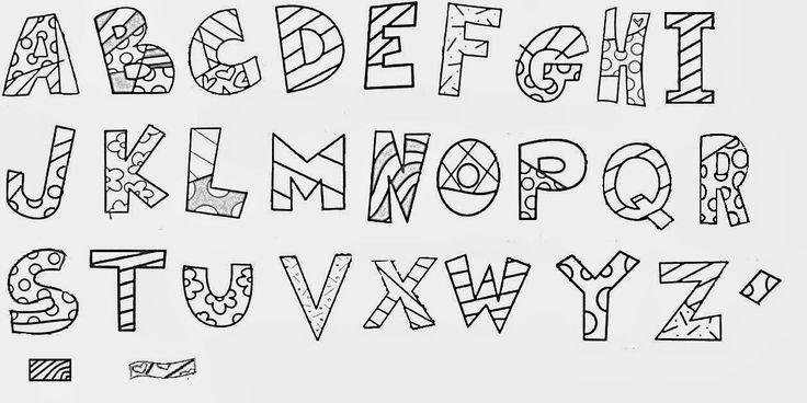 LOUCOS POR TECNOLOGIAS: Romero Brito: Alfabeto Ilustrado. Atividades. Biografia de Romero Brito