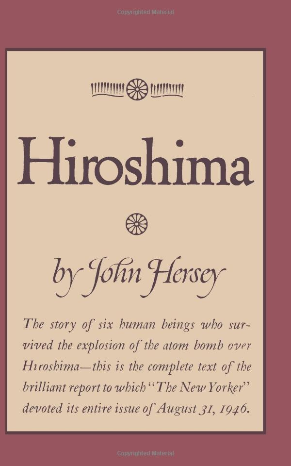 Amazon.com: Hiroshima (9780923891657): John Hersey, Sam Sloan: Books