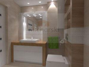 remont łazienki - projekt