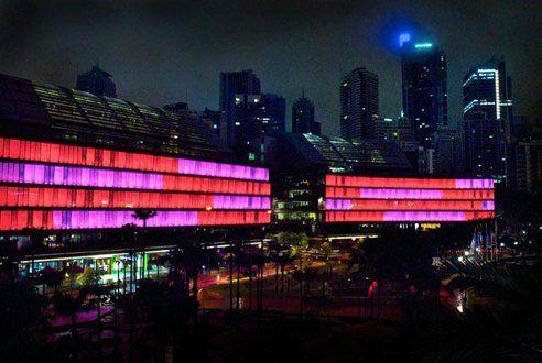 Sydney interactive solar lights- beautiful- human nature at its finest.