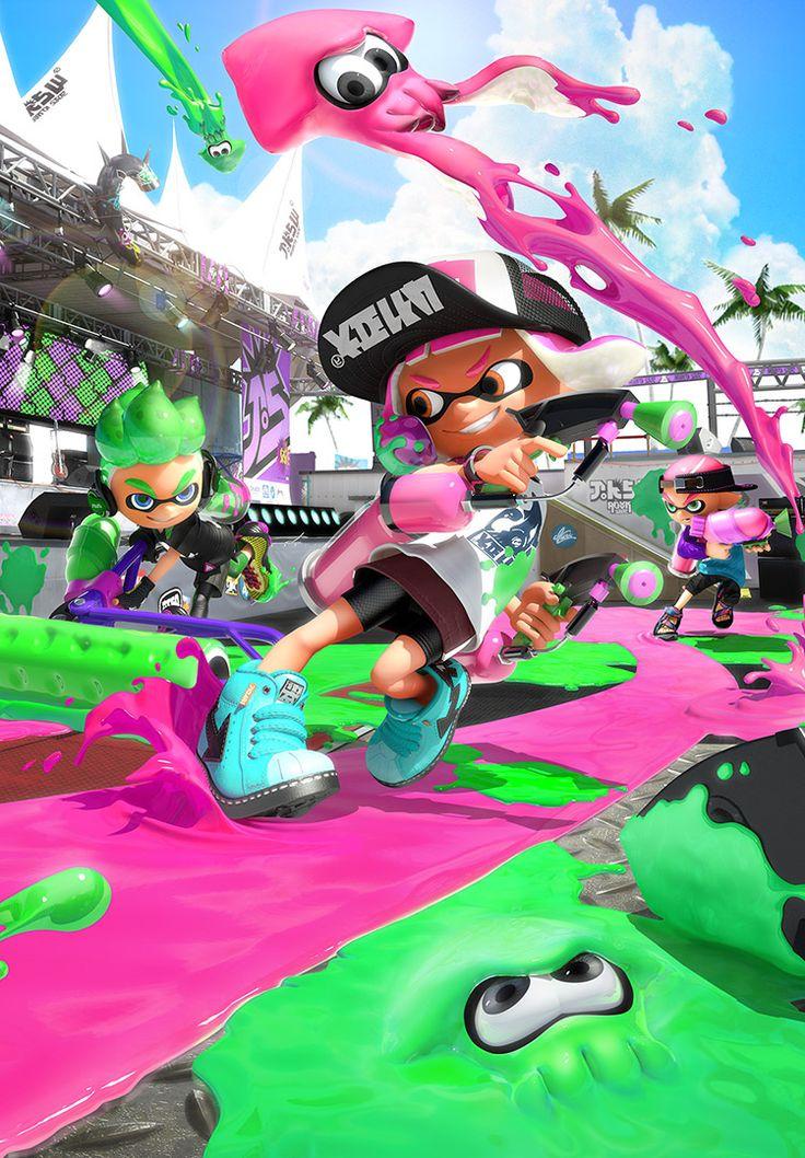 イカしたやつらがイカした進化!ガチで塗りあう時がきた!2017年7月21日(金)発売、Nintendo Switchソフト『スプラトゥーン2』の公式サイトです。