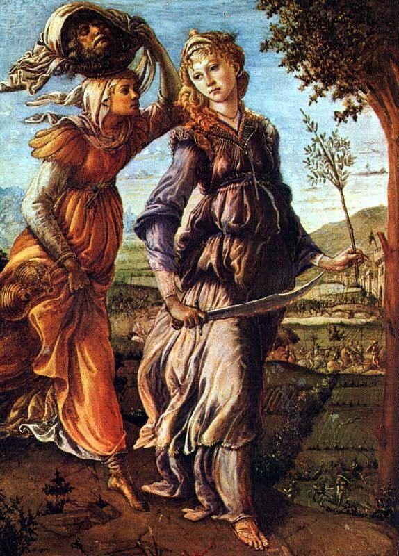 Sandro Botticelli, Ritorno di Giuditta a Betulia, 1472