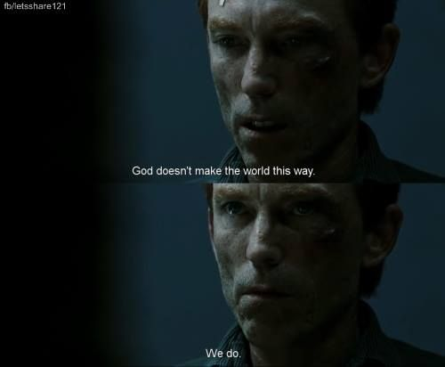 Jackie Earle Haley as Rorschach.  Watchmen Movie 2009