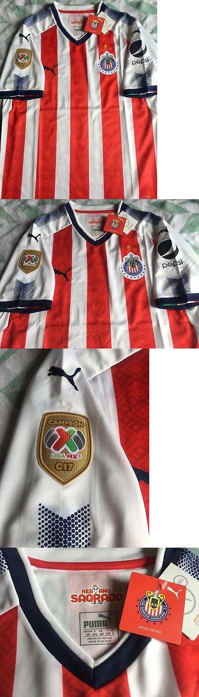Men 123490: New Chivas Guadalajara 2017 2018 Campeon Soccer Jersey Size Xl -> BUY IT NOW ONLY: $69.99 on eBay!