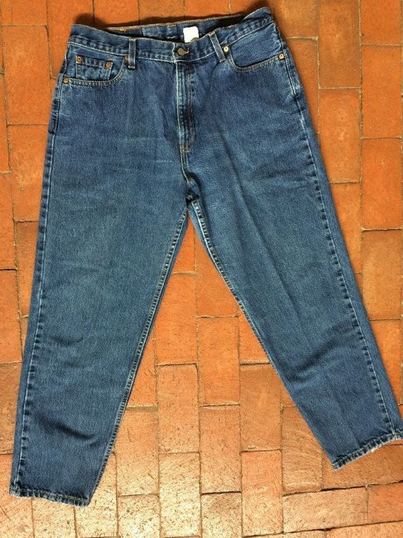 90s Levi's 560 spijkerbroek women's 34 x 30 of 35 x door VintageNM