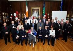 Over 1000 Years of Volunteering.  This week some of the Irish Red Cross' longest serving volunteers were awarded for their commitment at the 2013 National Long Service Awards ceremony, held in the Mansion House, Dublin.  Between them, the 34 men and women have given more than 1000 years of volunteering to the charity.  Amongst the veteran volunteers was Joan McCarthy, who was awarded for 70 years of service.  http://www.redcross.ie/news/over-1000-years-of-volunteering/