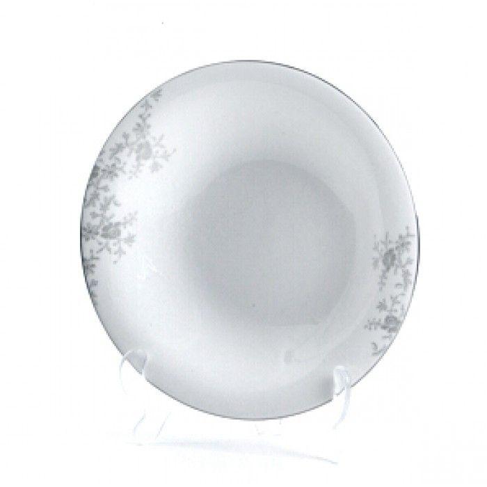 1 stk. - Royal Porcelain Angelina Platinum Dyp tallerken Ø:23,5 cm