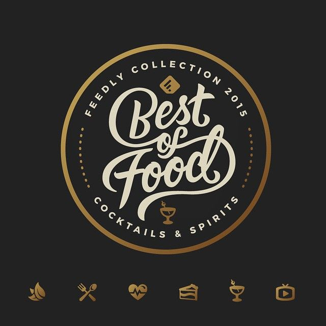 I Was Stoked To Create This Best Of Food Badge And Icons For A Tool