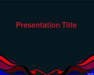 This free graphic for PowerPoint presentation is a background with colors and dark theme that you can download for Power Point presentations