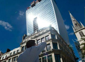 El rascacielos londinense que hace que los autos se derritan.