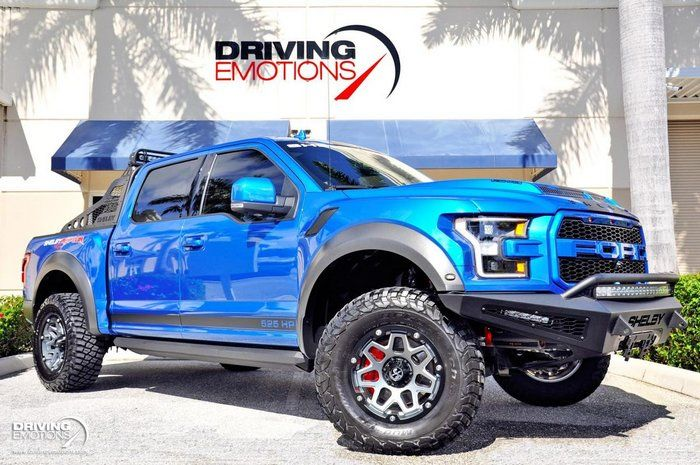 2020 Ford F150 For Sale 2431739 117 800 Lake Park Florida 2020 Ford F 150 Raptor Shelby Baja Velocity Blue With Black Lea Ford Classic Ford Trucks Shelby