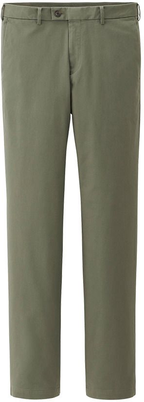 $39, Uniqlo Slim Fit Chino Flat Front Pants. Sold by Uniqlo. Click for more info: https://lookastic.com/men/shop_items/2003/redirect