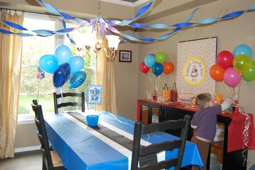 Gavin's 5th Birthday: Welcome to Lazytown!