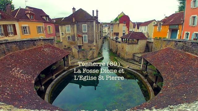 La Fosse Dionne et l'Eglise St Pierre de Tonnerre (89) by Didier Buffet. La Fosse Dionne (ou Dione) du latin Divona (divine) et l'Eglise St Pierre.