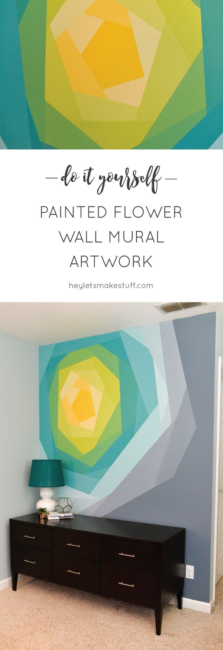 25 best painted wall murals ideas on pinterest wall murals painted flower wall mural artwork