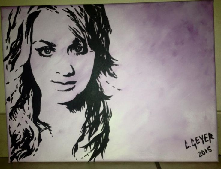 Penny popart painting The Big Bang Theory