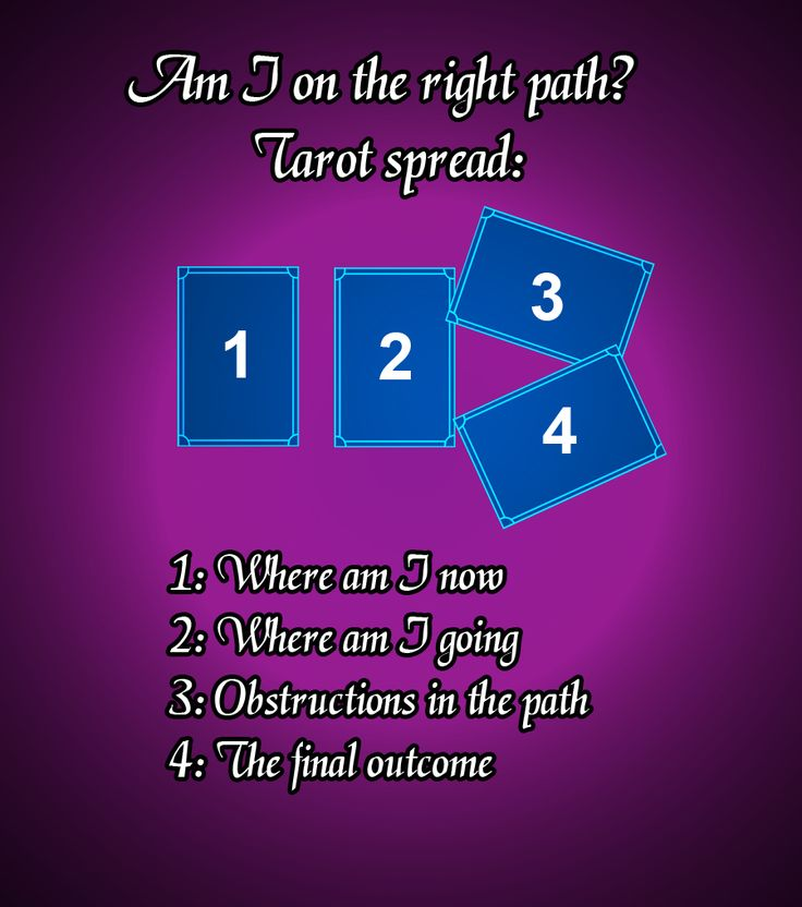 Career or life path simple tarot spread. Tarot spreads #tarot #tarotspread #easytarot
