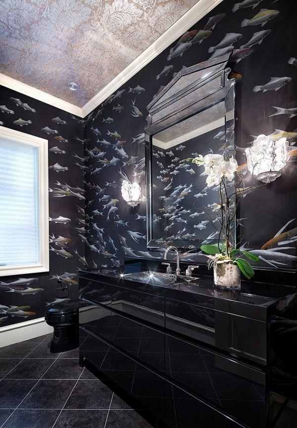 Luxus Badezimmer In Schwarz Und Grau With Images