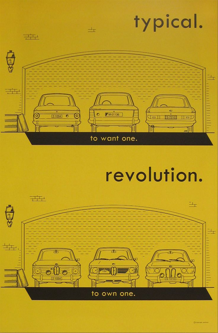 Bmw posters designed for fellow collectors