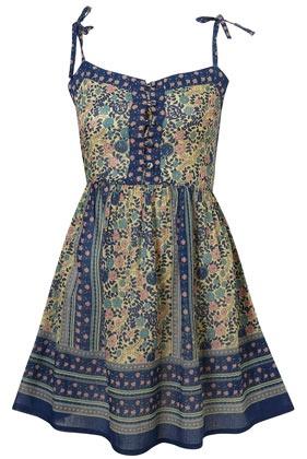 Gypsy smock dress via topshop