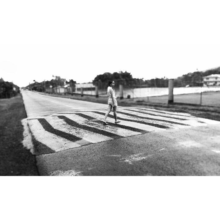 Walk mah way down town 🎶  #samoa #road #timeless