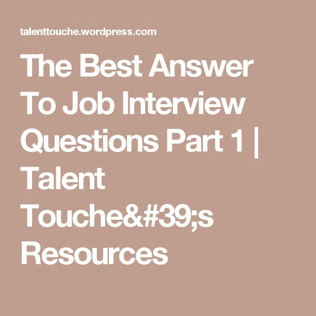 Best  Typical Interview Questions Ideas On   Job