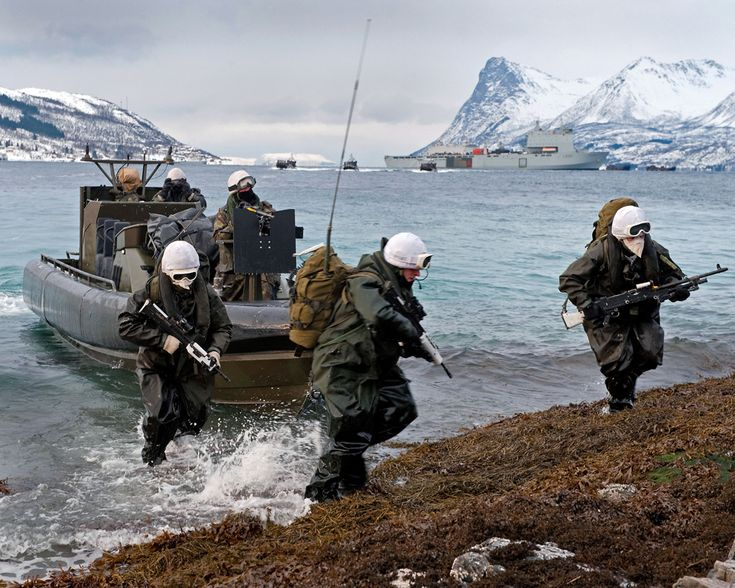 UK Forces preparing for military exercises in Norway