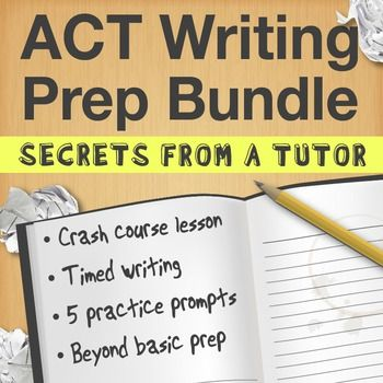 practice essay prompts for act