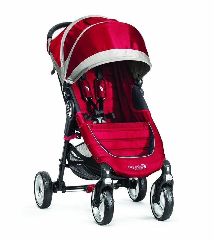 2014 Baby Jogger City Mini 4 Wheel Single Stroller Infant Pushchair Pram Jogging #BabyJoggerCityMini4WheelStroller