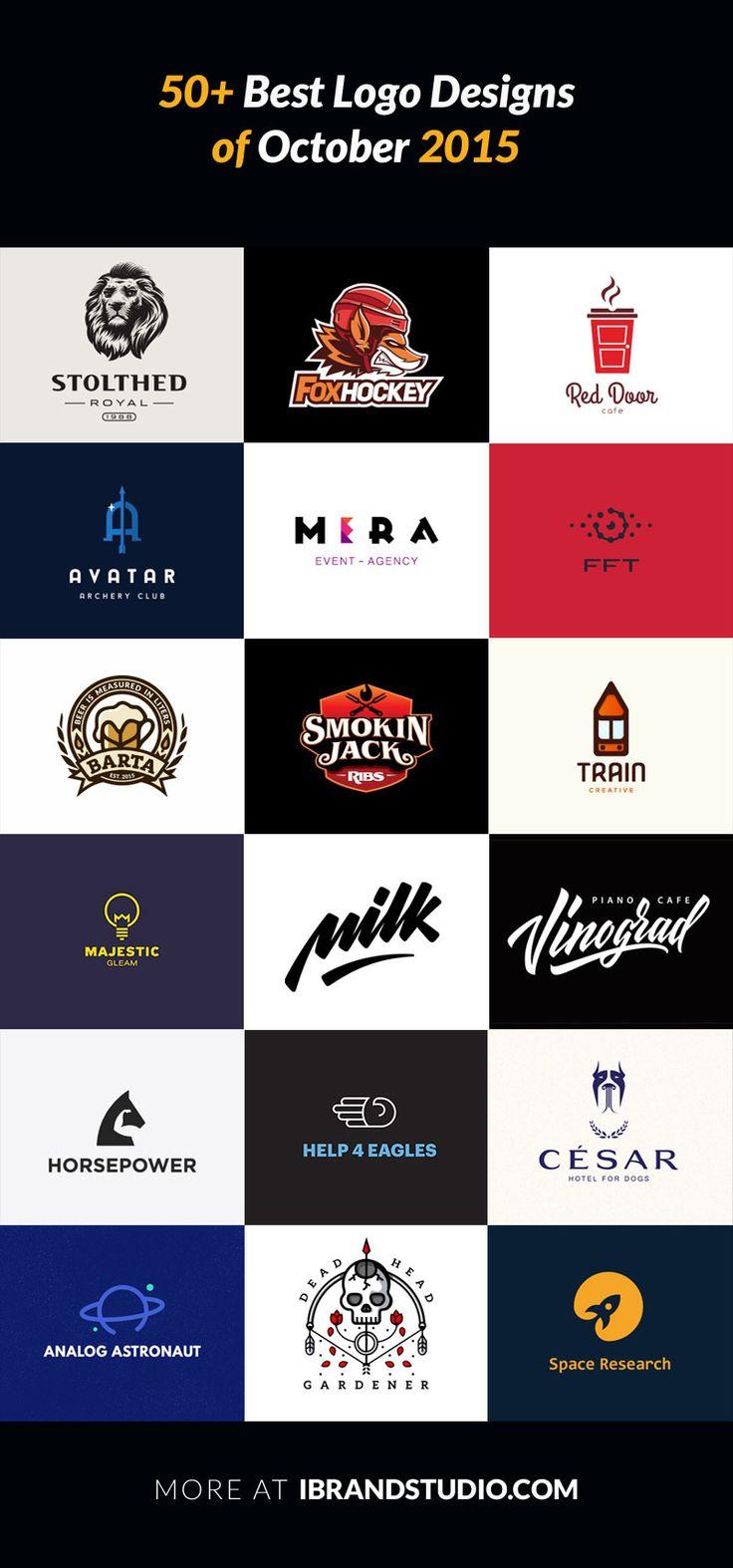 Logo Inspiration: 50+ Best Logo Designs of October 2015, here: http://ibrandstudio.com/inspiration/best-logo-designs-october-2015
