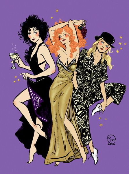 Witches of Eastwick Pin-up Art Print