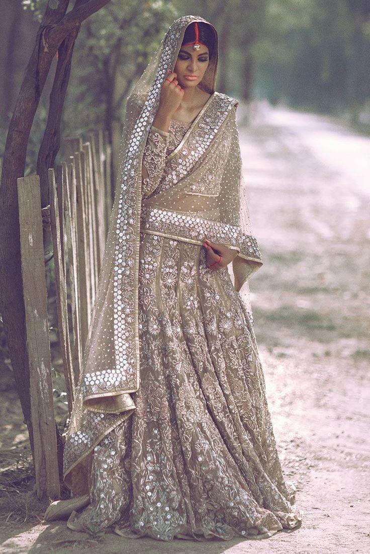 Erum Khan bridals, Summer 2016.