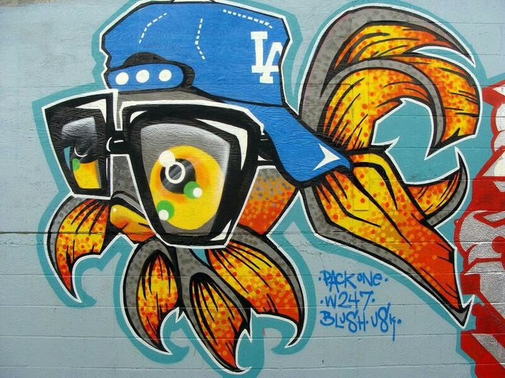 """Graffiti by """"PACK ONE"""""""
