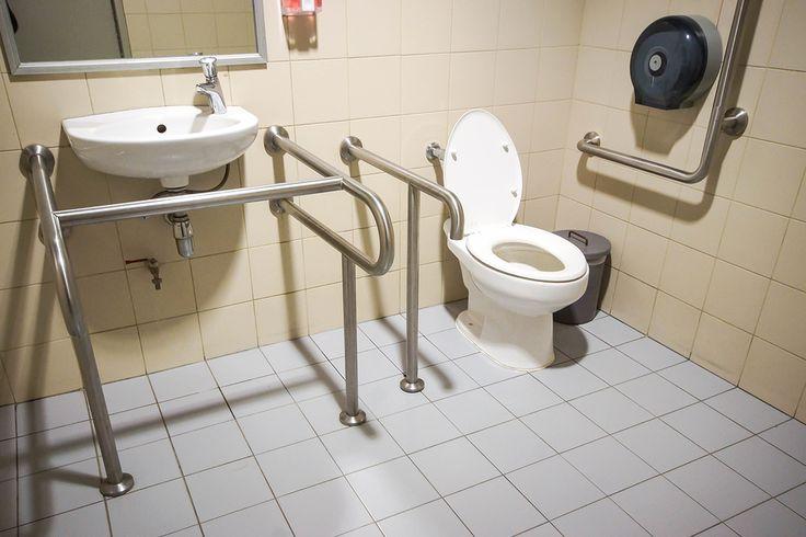 The 25 best bathroom grab rails ideas on pinterest grab for 5 bathroom safety tips