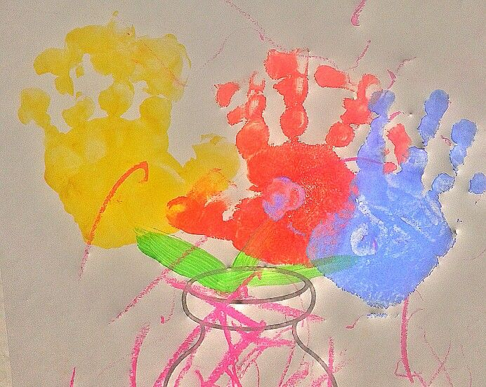 #Artística. Con 17 meses de edad se puede crear...