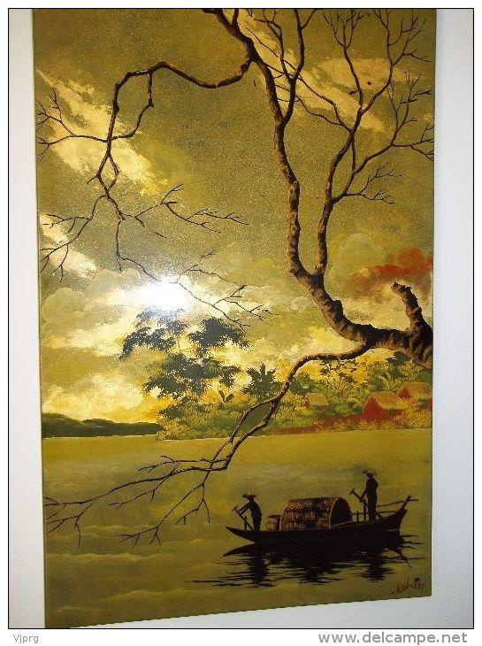 17 best images about vietnam tableaux on pinterest - Peinture tas de laque ...