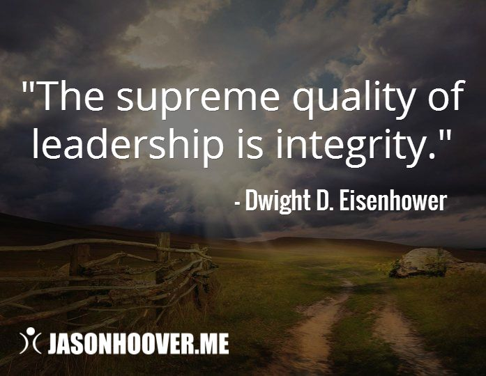 the integrity of leadership Successful leaders demonstrate their values and ethics in every action they take at work and in their choose your leadership values integrity belonging.