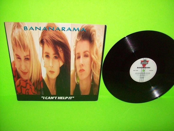 "Bananarama – I Can't Help It 12"" Vinyl EP Record Dance Pop SynthPop 1987 EX #Bananarama #Synthpop #Vinyl"