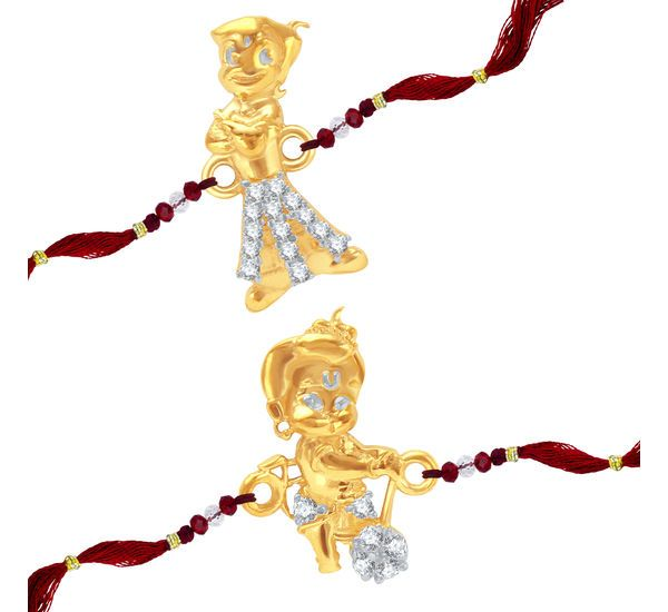 Shop Now- http://www.sukkhi.com/jewellery-imitation-online/sukkhi-cz-studded-chhota-bheem-bal-hanuman-rakhi/p-8072635-54596427546-cat.html#variant_id=8072635-54596427546 Get prepared for upcoming festival makes this Rakshabandhan special with Sukkhi CZ Studded #ChhotaBheem And #BalHanuman Rakhi Combo For #Kids. Send rakhi online to your little brother and little sister. #Rakhi #Quotes #Rakshabandhan #Shopping #Festivals #Family #Gifts #Lifestyle #Siblingslove #India #online #shopping