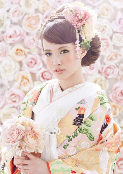 cute japanese bride