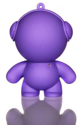 Purple Mini Monster Speaker - Little speakers with BIG sound! These little guys are perfect for BBQ's, garden parties, or anywhere else you might need portable music. Available in lots of colours.